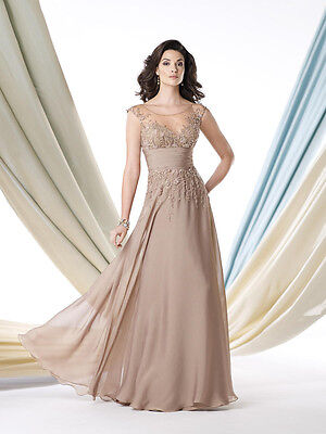 Montage by Mon Cheri Evening Dress 213988 Mother Of The Bride Authentic Gown
