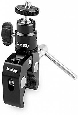 Smallrig Clamp Mount V1 W/ Ball Head Mount Hot Shoe Adapter And Cool Clamp -