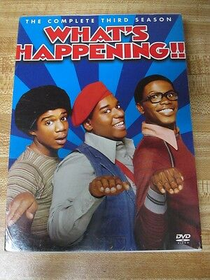 What's Happening!! - The Complete Third Season (DVD, 2005, 3-Disc Set) NEW