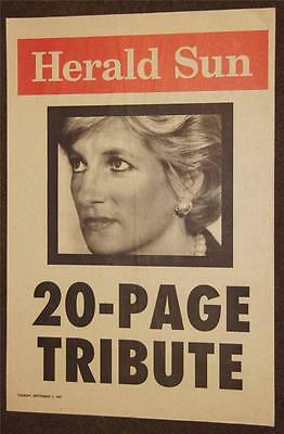 Princess Diana Rare Poster Collection 1 from 1997 (10 Rare Posters)