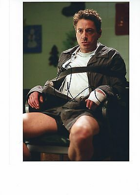 Robert Downey Jr Kiss Kiss Bang Bang Autographed Photo 8X10 #2