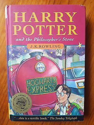 Harry Potter And The Philosopher 39 S Stone First Print