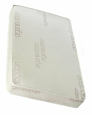 """LA Baby 3"""" Mini/Portable Crib Mattress with Soy Foam Core and Blended Organic"""