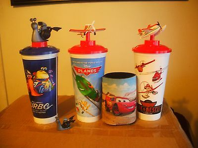 Collector Cups Turbo Planes & Fire & Rescue