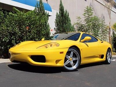 1999 Ferrari 360  CLEAN CARFAX, GREAT COLOR COMBO, 19 STAGGARD WHEELS, MUST SEE PICS