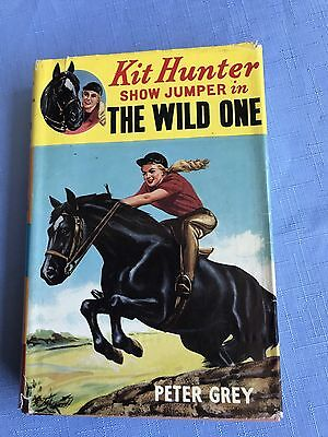 Vintage Book Kit Hunter Show Jumper In The Wild One