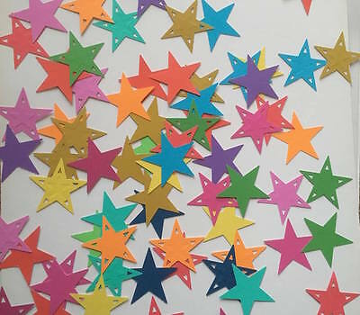 x30 STARS Large 2 Designs PAPER PUNCH/ PUNCHIES - CRAFT SCRAPBOOKING ASSORTED