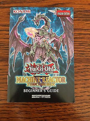 Beginner's Guide - Machine Reactor Structure Deck - Yu-Gi-Oh! - Yugioh