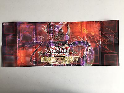 Paper Playmat - Dinosmasher's Fury Structure Deck - Yu-Gi-Oh! - Yugioh