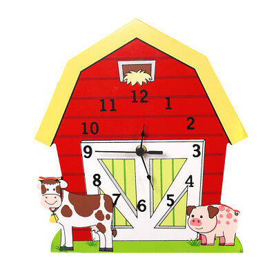 Fantasy Fields - Happy Farm Wall Clock