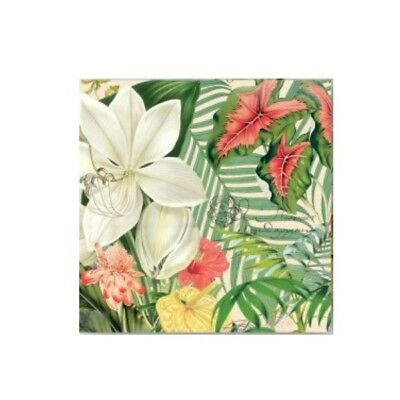 Vanilla Palm Napkins by Michel Design Works - Cocktail, Luncheon or Hostess