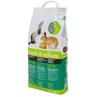 Highly Absorbent Small Animal Bedding & Litter Pellets 30L Natural Odour Control