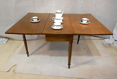 ANTIQUE GEORGIAN MAHOGANY DINING TABLE c1810-30 KITCHEN TABLE SIDE TABLE