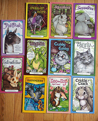 Lot of 11 Softcover Serendipity Vintage Books Stephen Cosgrove Robin James