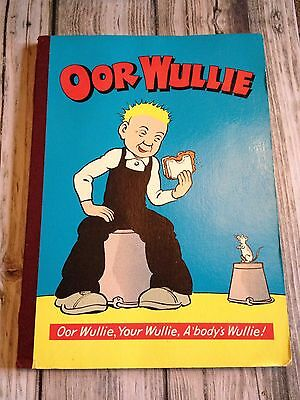 Oor Wullie 1972 Annual with Slight Damage (see description)