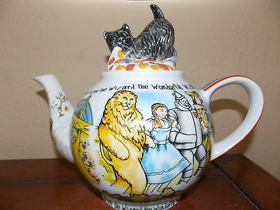 New Paul Cardew Wizard Of Oz Toto 48 Oz Large Teapot & Lid