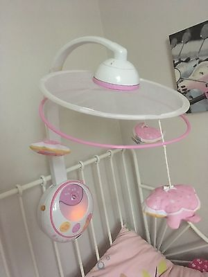 CHICCO Carousel First Dreams Magic Star Cot Mobile Pink 0 Months +