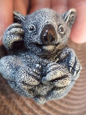 "1 7/8"" Signed Neil Eyre #13/50 2004 Edition Kylie Koala Figurine Miniature"