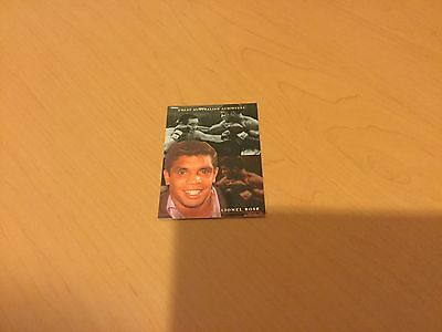 Lionel Rose Trading card Great Australian Achievers **TAKE A LOOK**