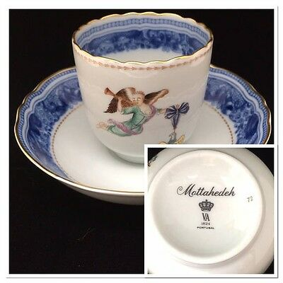 Mottahedeh Cincinnati Winterthur Adaptation Cup and Saucer China (B)
