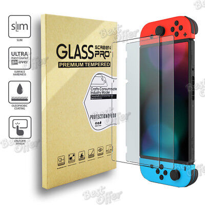 Tempered glass Screen Protector Film Sheet for Nintendo Switch Melbourne
