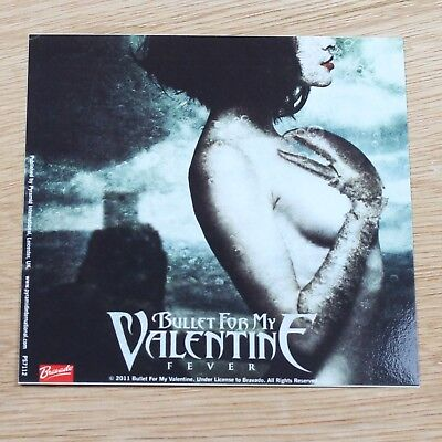 Bullet For My Valentine Fever Vinyl Sticker New Official Rock Metal Band Merch