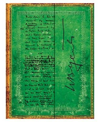 """Paperblanks Journal """"Yeats"""" LINED Ultra 7x9"""" Book Writing"""