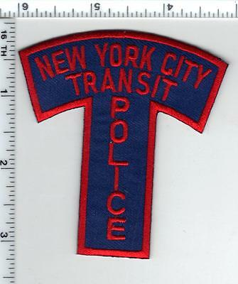 "New York City Transit Police ""T"" Patch from the 1970's - Defunct Agency 4/1995"