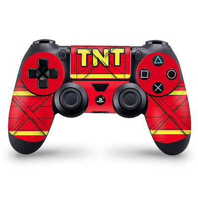 TNT Crate Theme Crash bandicoot Playstation 4 Controller Skin ps4 Decal Sticker