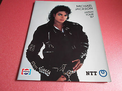RARE! Michael Jackson Dangerous World Tour Japan Ver. Program Japanese Brochure