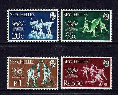 Seychelles  1976  Olympic Games Montreal.. Set Of 4....mint Unhinged