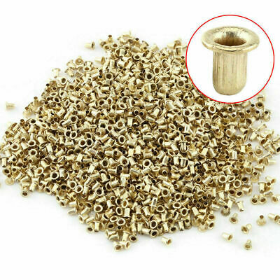 1000x Bee Hive Beehive Brass Nest Frame Eyelets Beekeeping Tools Hot im