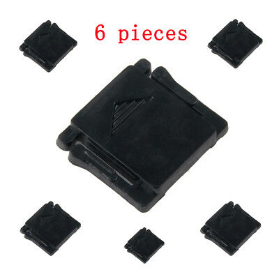 6X Flash Hot Shoe Plastic Cover Cap Protective For Canon Nikon Olympus Camera
