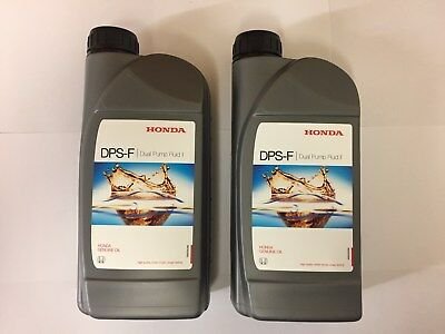 Genuine Honda CRV & HRV Rear Differential Oil - Honda DPS-F 2 (2 X 1Lts Bottles)