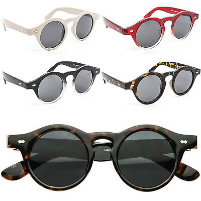 Vtg 1920s 30s 40s Style Sunglasses Mens Womens Retro Round Lens Fashion