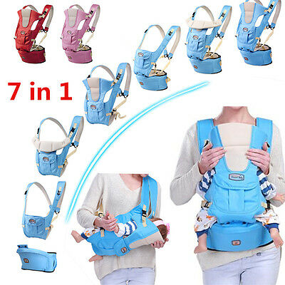 Zaino Marsupio Baby Carrier per Porta Bambino Neonato Adjustable Infant Sling