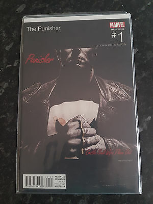 Marvel The Punisher #1 First Edition Hip Hop Variant Castle Said Wipe Them Out