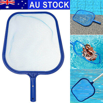 AU Professional Leaf Rake Mesh Frame Net Skimmer Cleaner Swimming Pool Spa Tool