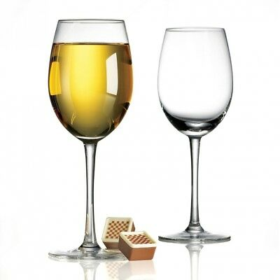Anchor Hocking 4-Piece Bianca Wine Glass Set. Delivery is Free