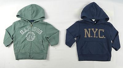 Gap Baby Boys Hoodie, Cotton Hoodie Jumper Sizes 12/18, 18/24
