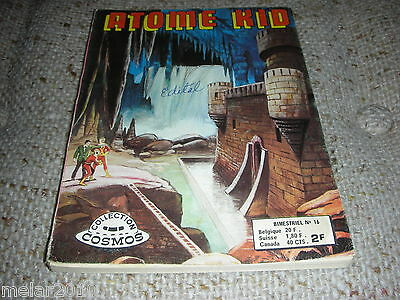 ATOME KID # 16 French Digest Comic 1974 Collection COSMOS