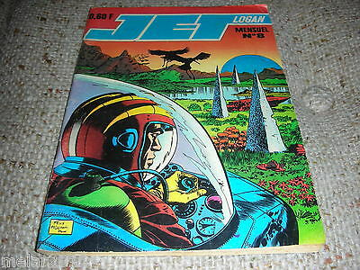 JET LOGAN   # 8 French Digest Comic From The 70's