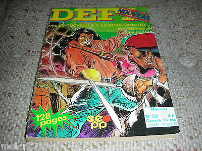 DEFT # 59 French Digest Comic 1976