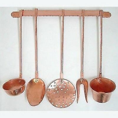 5 SET series Cookware KITCHEN COPPER WITH SHELF FURNITURE