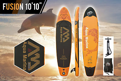 ISUP Aqua Marina Fusion Stand Up Paddle Board SUP Surfboard inkl. Pumpe + Tasche