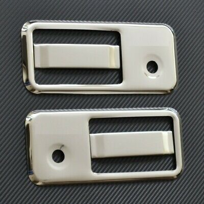 For Volvo Fh/fm Chrome Door Handle Cover Set 4 Pcs Stainless Steel Mirror Finish
