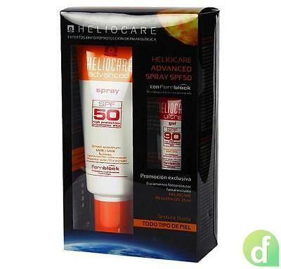 Heliocare Advanced Spray SPF50, 200 ml. + Heliocare Ultra Gel SPF90, 25 ml. de R
