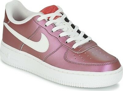 Nike Air Force 1 Lv8 Gs 820438-602 Girls Af1 Youth Shine Pack Womens Retro Pink