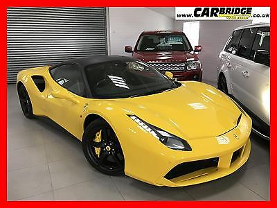 2017 Ferrari 488 Gtb Coupe 2Dr....vat Qualifying...lots Of Carbon