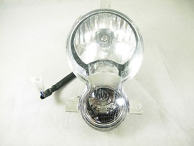 150cc TAOTAO VIP / POWERMAX FRONT HEADLIGHT ASSEMBLY *INCLUDES HARNESS*